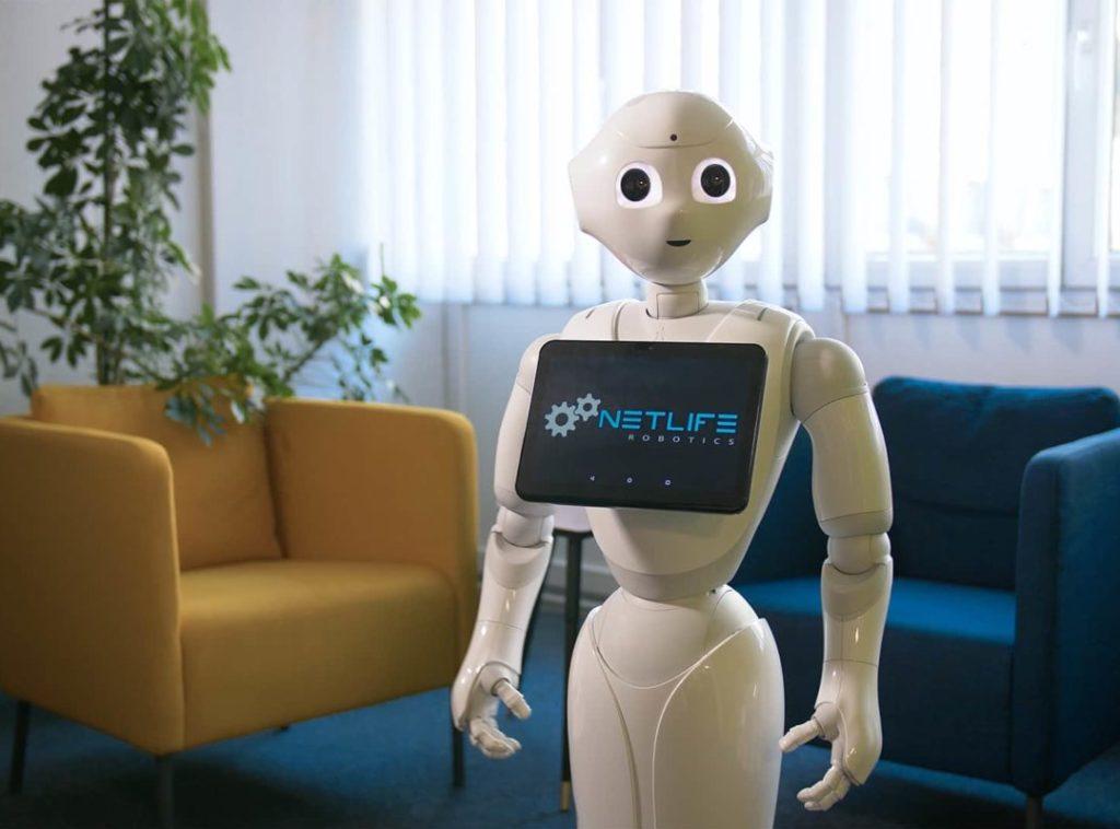 Humanoid Pepper robotok az orvostudományban