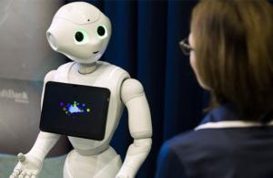 Voicebot humanoid robottal