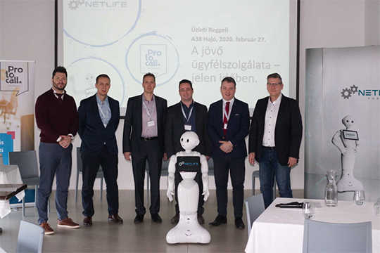 Customer service of the future - participants