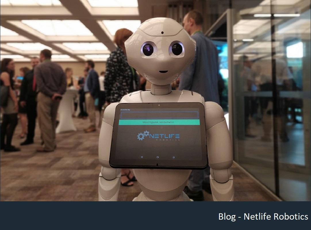 Vendáglátóipar Pepper robot