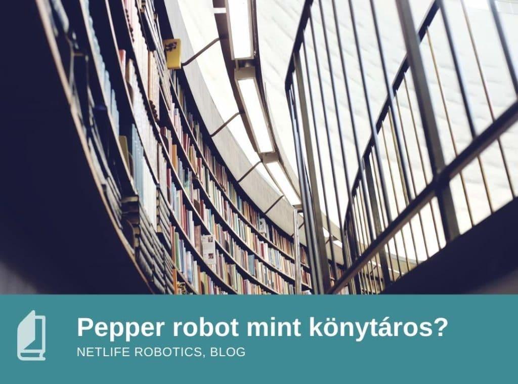 Könyvtáros robot