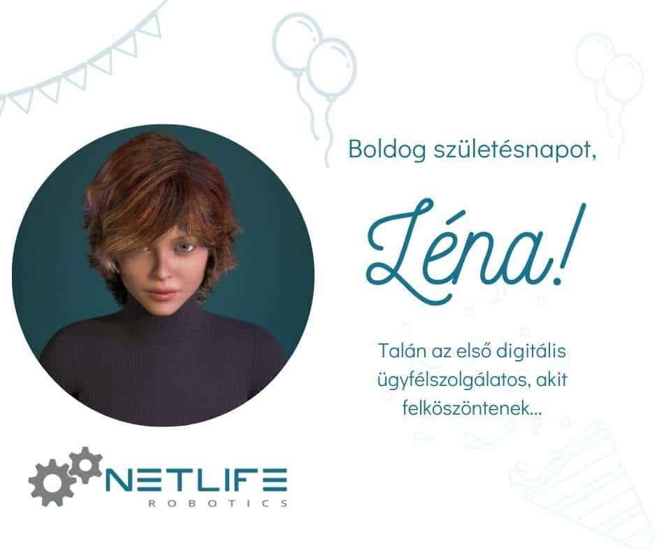 Léna, a digital human